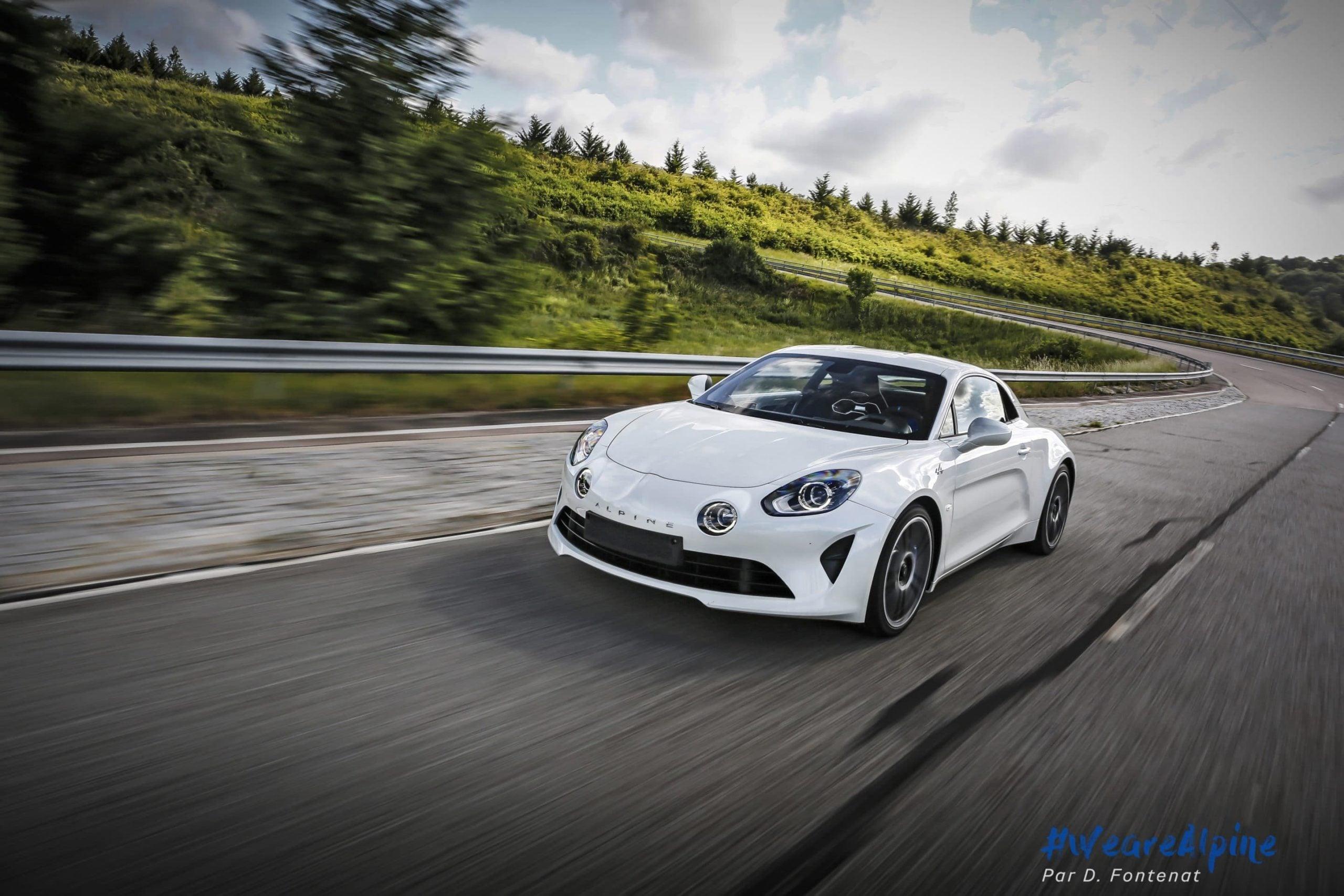 DF18717©D.Fontenat scaled | Essai vidéo de la nouvelle Alpine A110 sur circuit en exclusivité mondiale !
