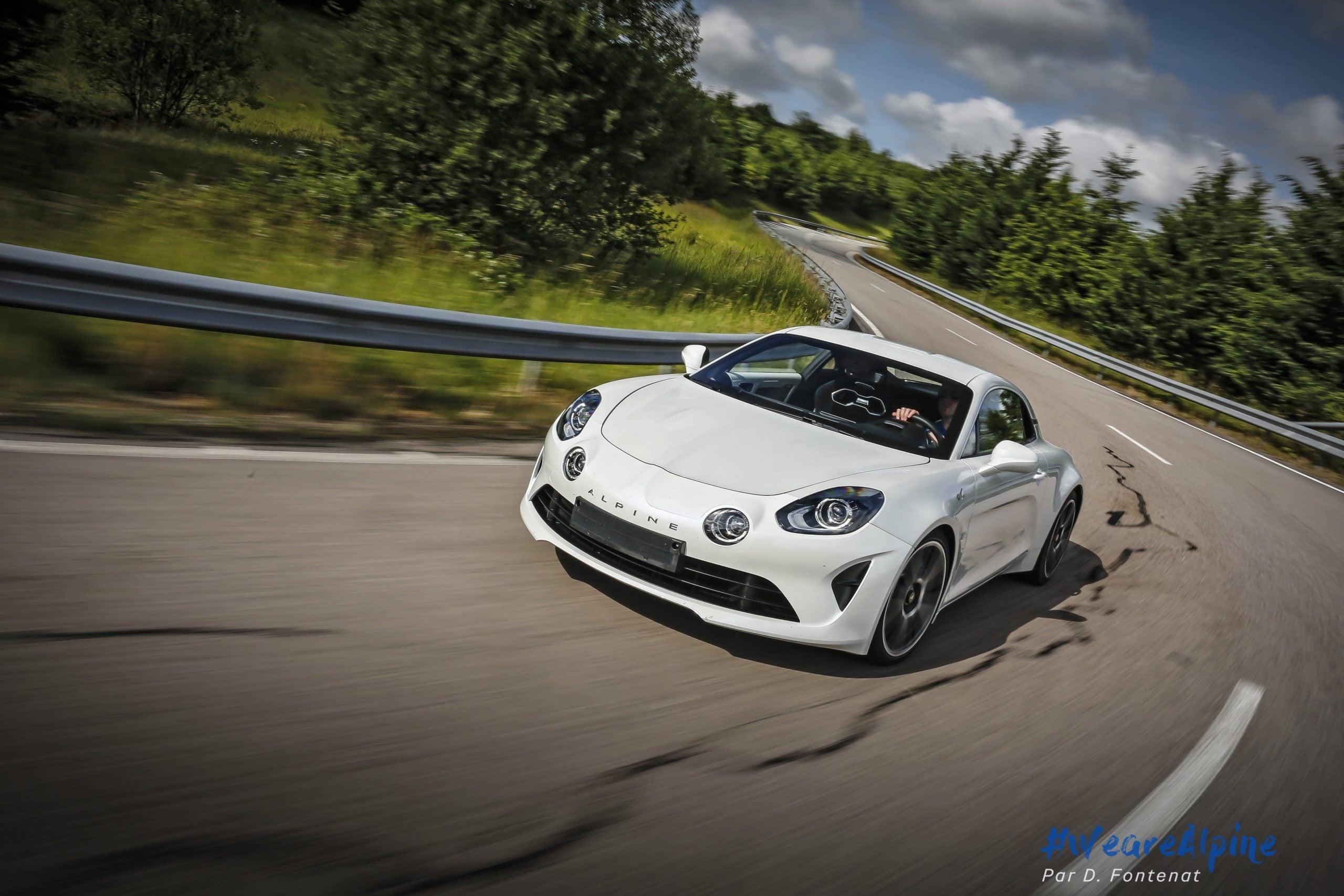 DF18757©D.Fontenat scaled | Essai vidéo de la nouvelle Alpine A110 sur circuit en exclusivité mondiale !