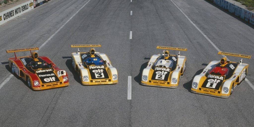 24 Heures du Mans 1978 pironi jabouille depailler jaussaud bell ragnotti frequelin a443 a442b a442a a442 victoire 7 | PassionnéMans Alpine ! (3ème Partie)