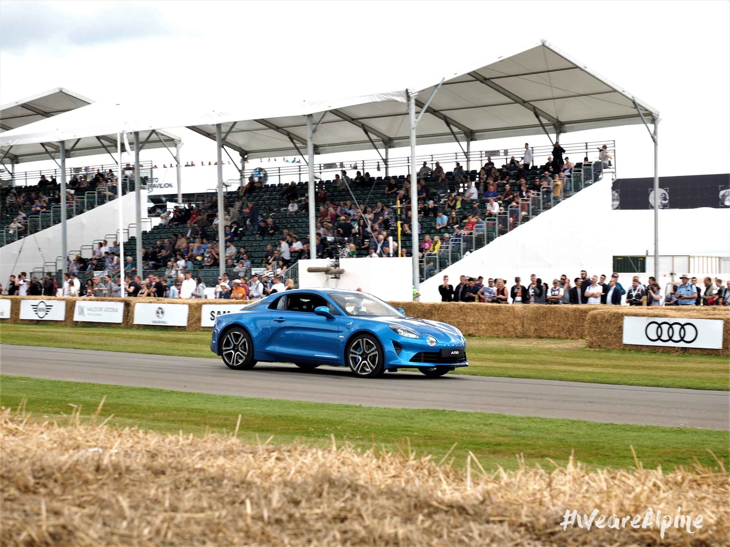 La nouvelle Alpine A110 de GoodWood