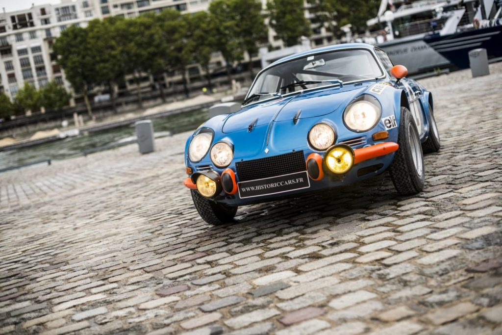 Alpine A110 1600S 1971 Usine Jean Pierre Nicolas 13 | Depancel AUTO RS: l'inspiration bleue