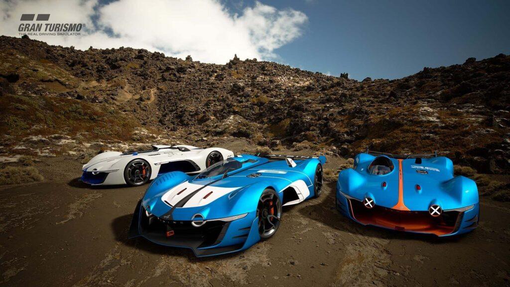 Alpine Vision Gran Turismo GR.1 Sport PS4 2 | 30 idées de cadeaux de Noël pour les passionnés d'Alpine