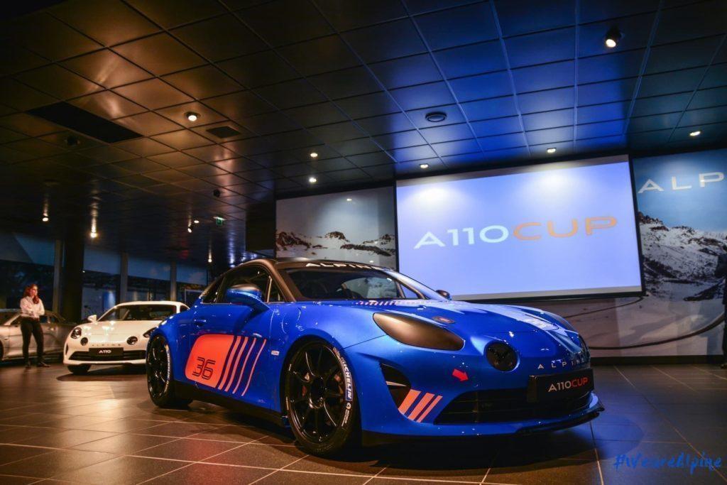 Alpine A110 Cup Signatech Studio Boulogne Billancourt GPE Auto 12 | 2020 - Alpine Planet devient les Alpinistes
