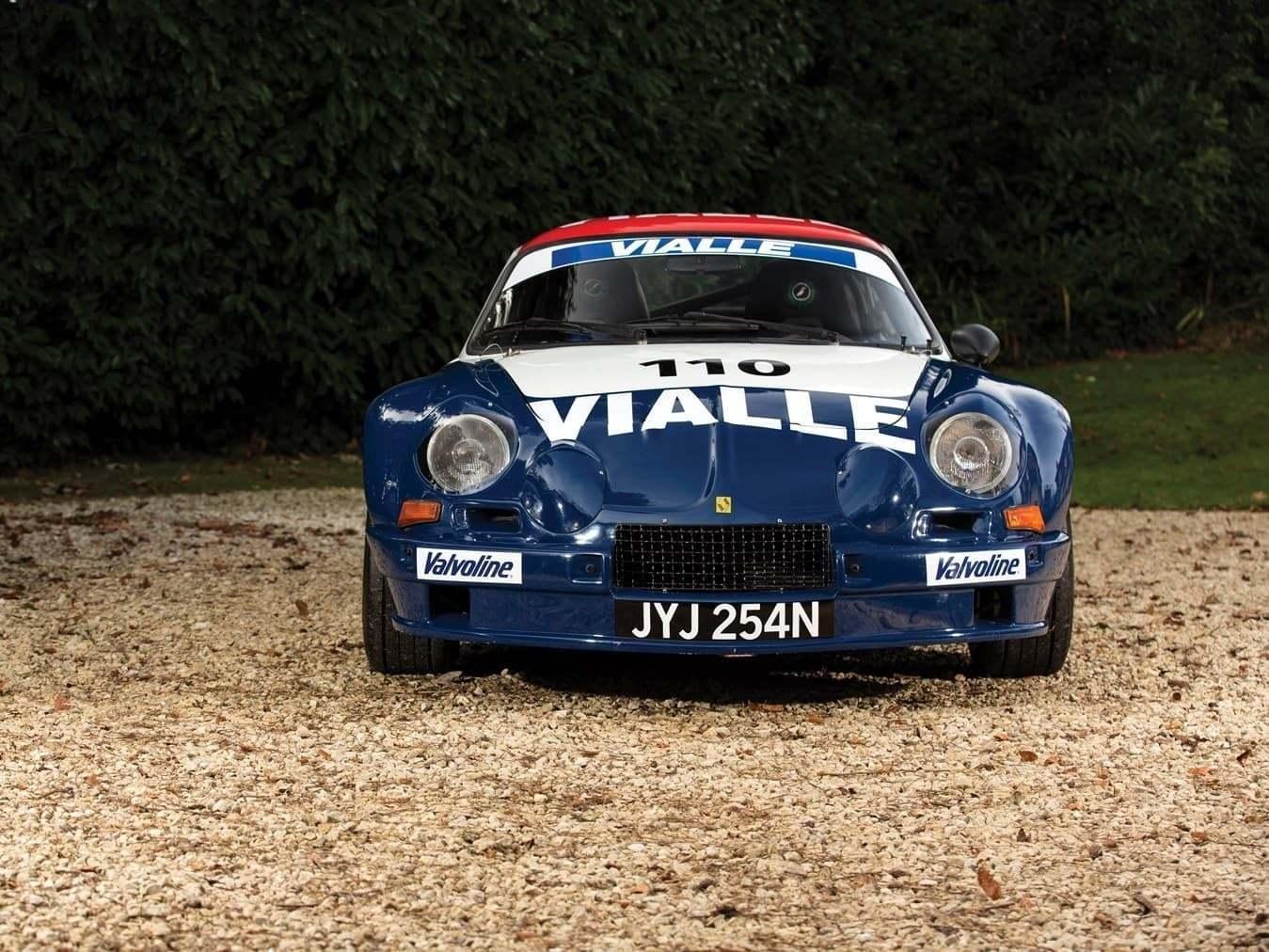 Alpine A110 B Vialle 1974 Rally cross 28 | RM Sotheby's met aux enchères trois Alpine pour Paris 2018