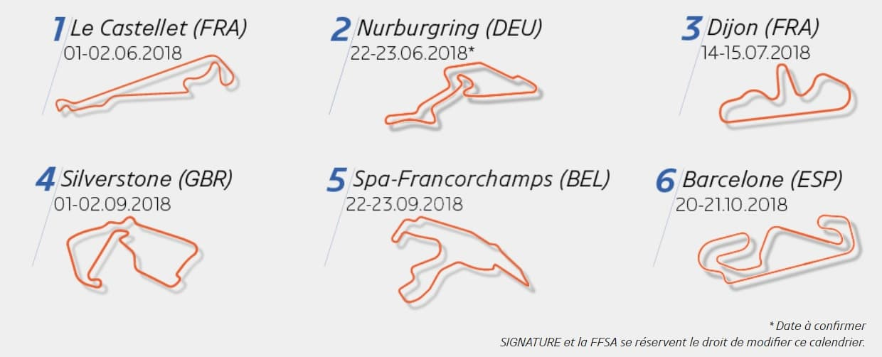 Alpine A110 Europa Cup Calendrier Le Castellet Nurburgring Silverstone Spa Francorchamps Barcelone | Le Team Racing Technology s'engage en Alpine Europa Cup