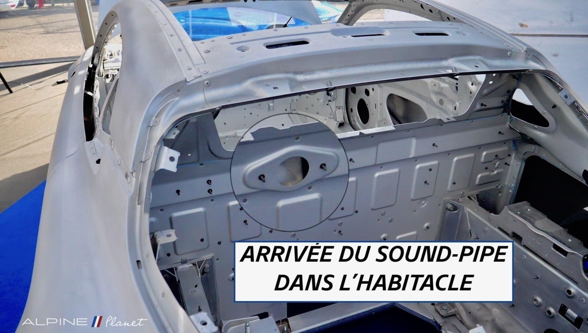 AlpineA110 soundpipe - Notre essai de la nouvelle Alpine A110 sur route !