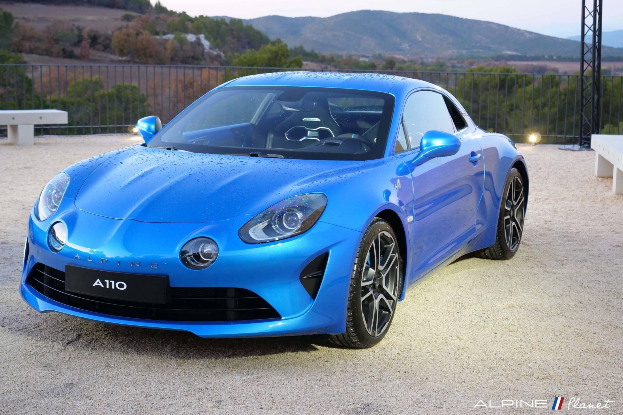 Alpine Planet Test Drive Static 13 - Notre essai de la nouvelle Alpine A110 sur route !