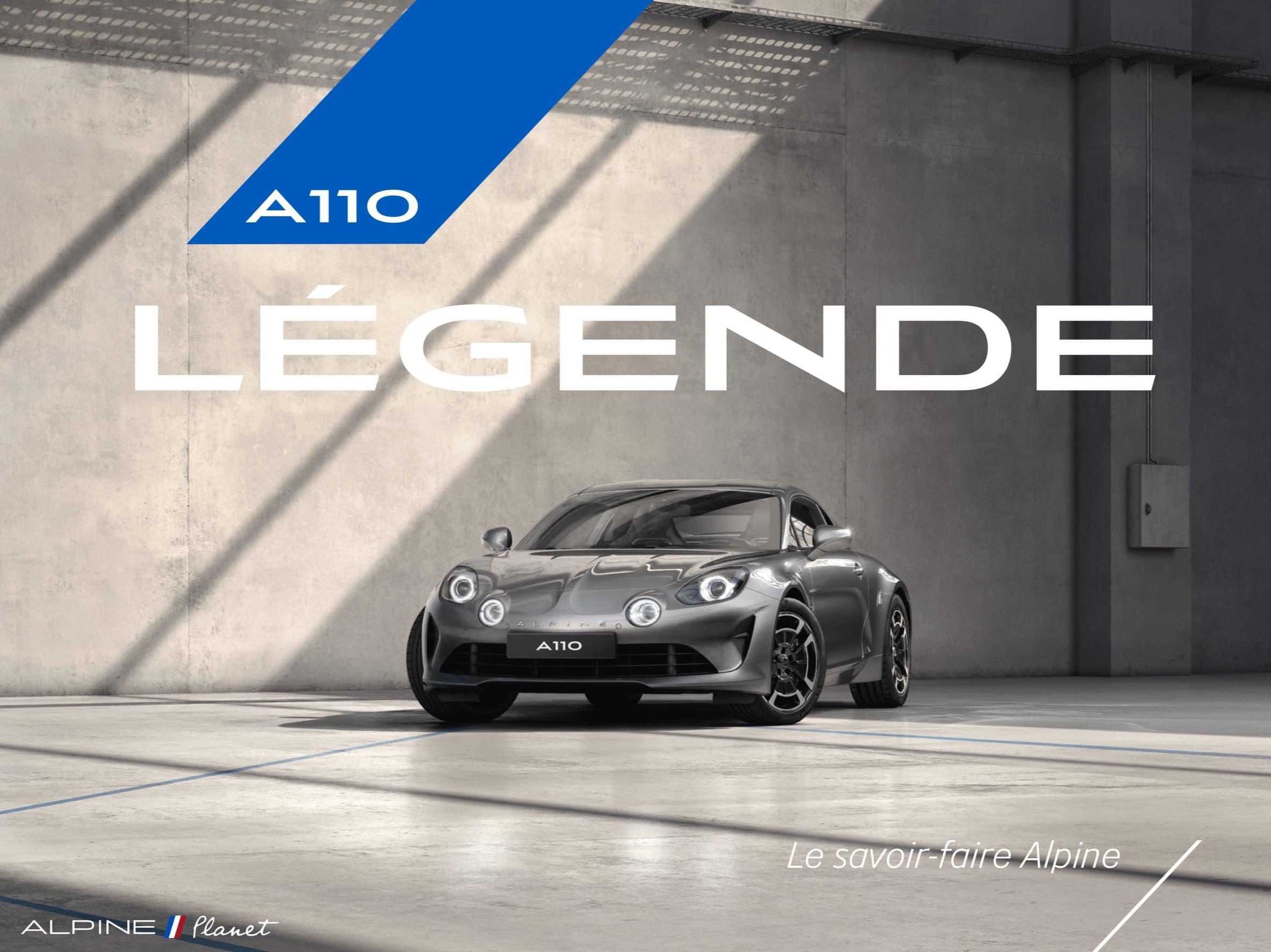 Alpine Planet pure legend reveal 11 | Alpine lève le voile sur les deux finitions pour l'A110: Pure et Légende !