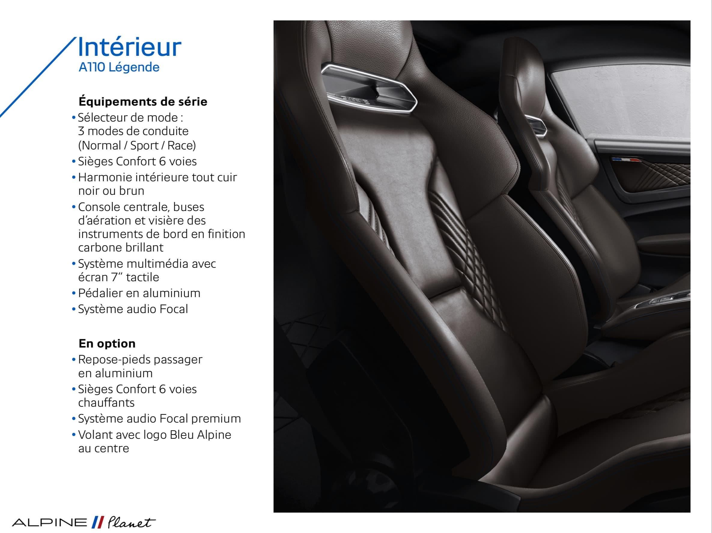 Alpine Planet pure legend reveal 15 | Alpine A110 Pure et Légende: les tarifs, les équipements !