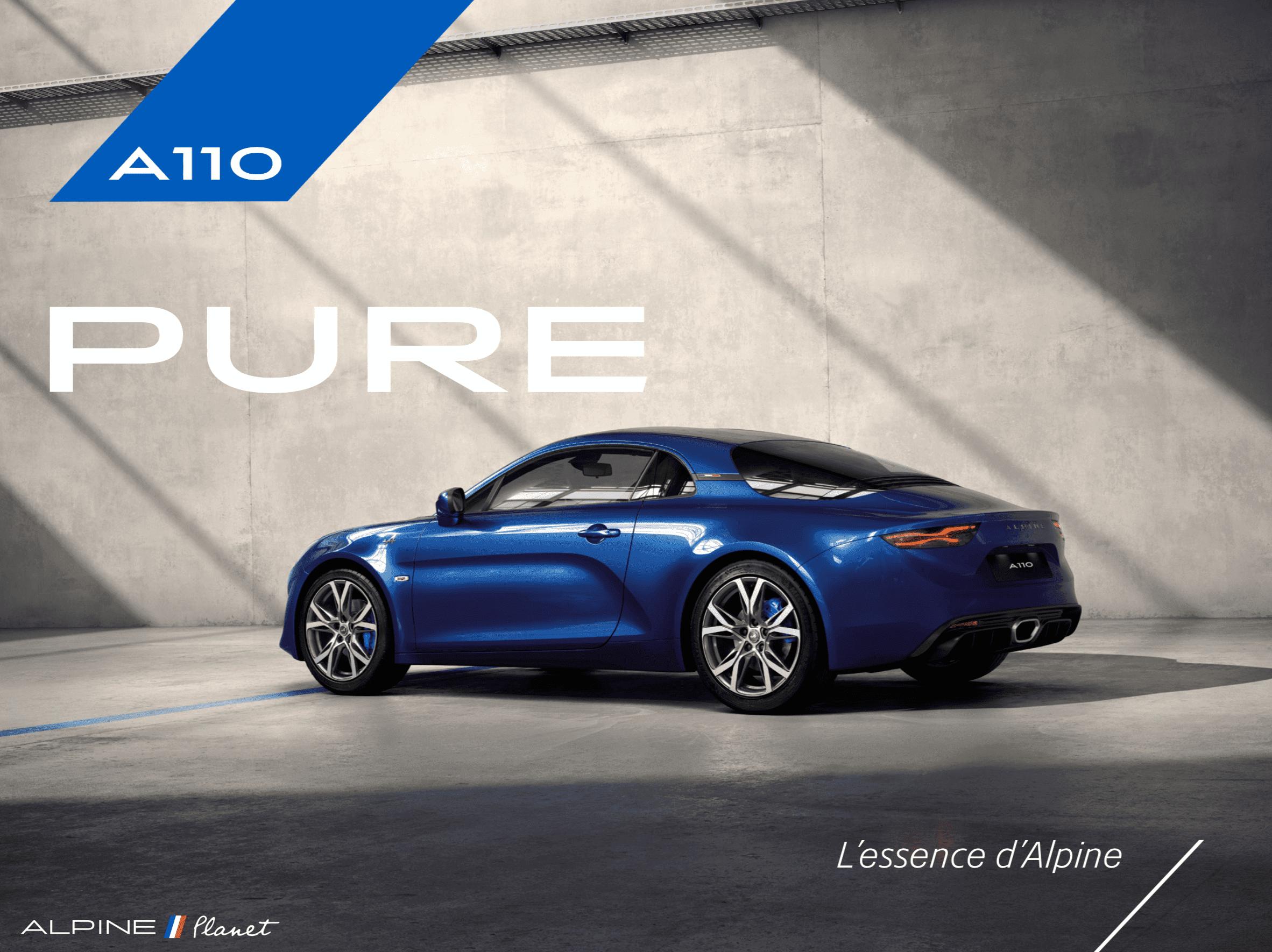 Alpine Planet pure legend reveal 2 | Alpine lève le voile sur les deux finitions pour l'A110: Pure et Légende !