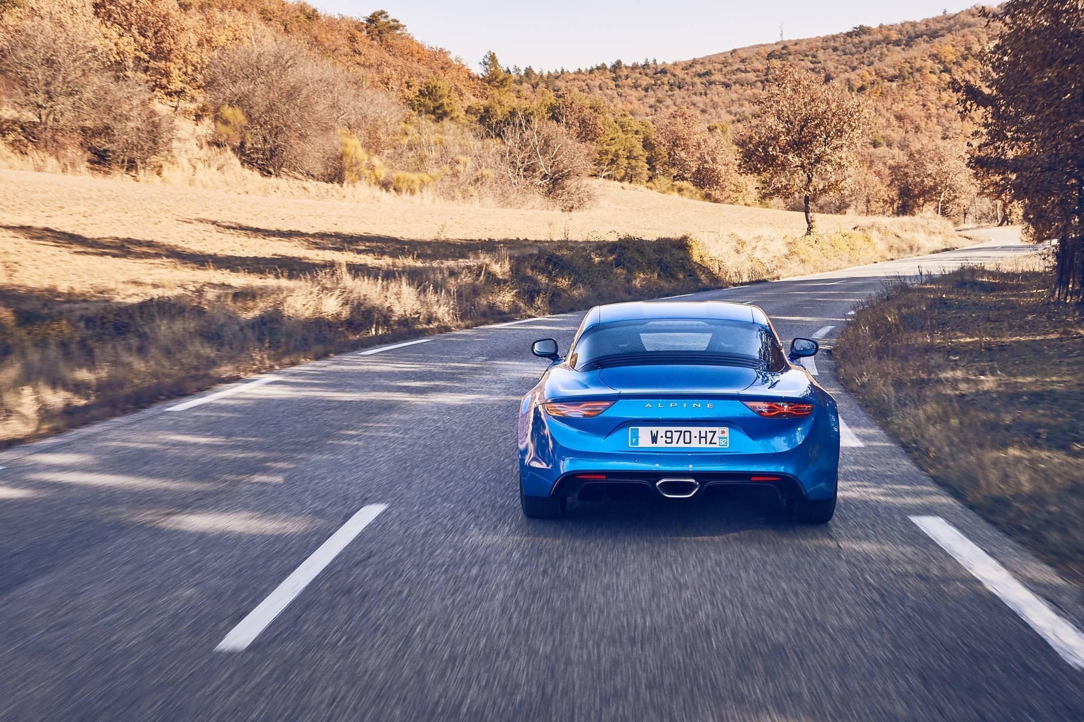 Alpine planet 2017 Alpine A110 test drive 34 - Notre essai de la nouvelle Alpine A110 sur route !