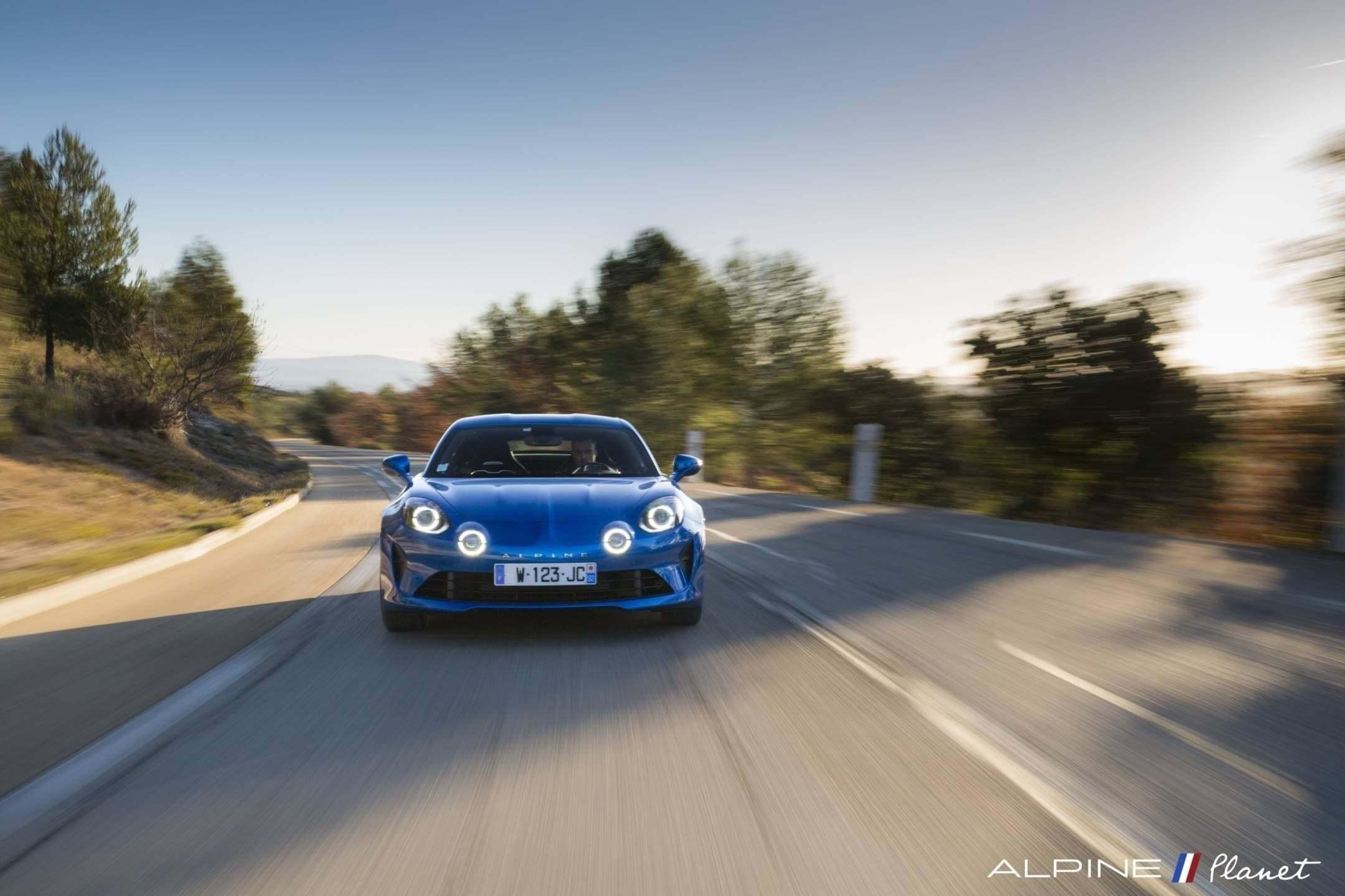 Alpine planet drive A110 1 - Notre essai de la nouvelle Alpine A110 sur route !