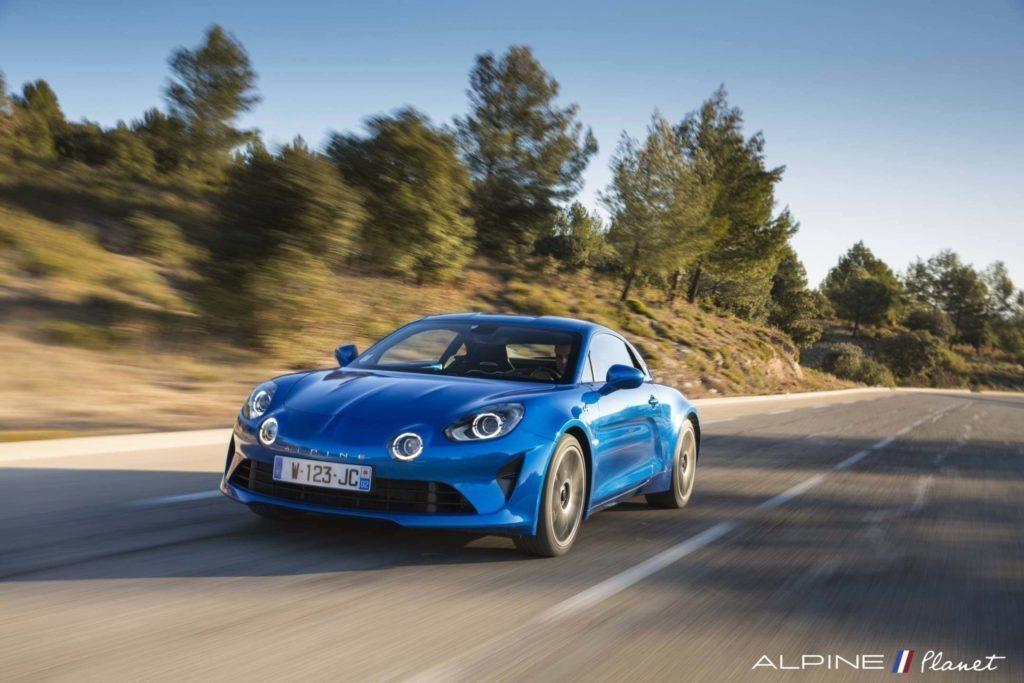 Alpine planet drive A110 4 | 2020 - Alpine Planet devient les Alpinistes
