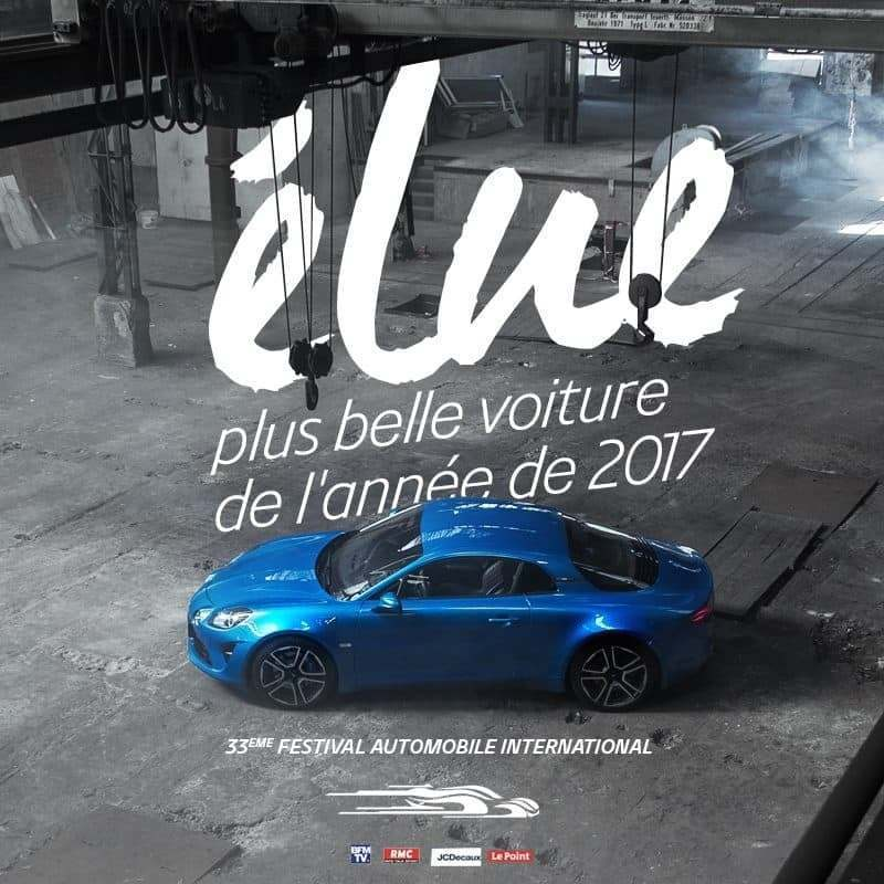 27067368 1016042475202618 2228509615267795007 n | La nouvelle Alpine A110 élue plus belle voiture de l'année