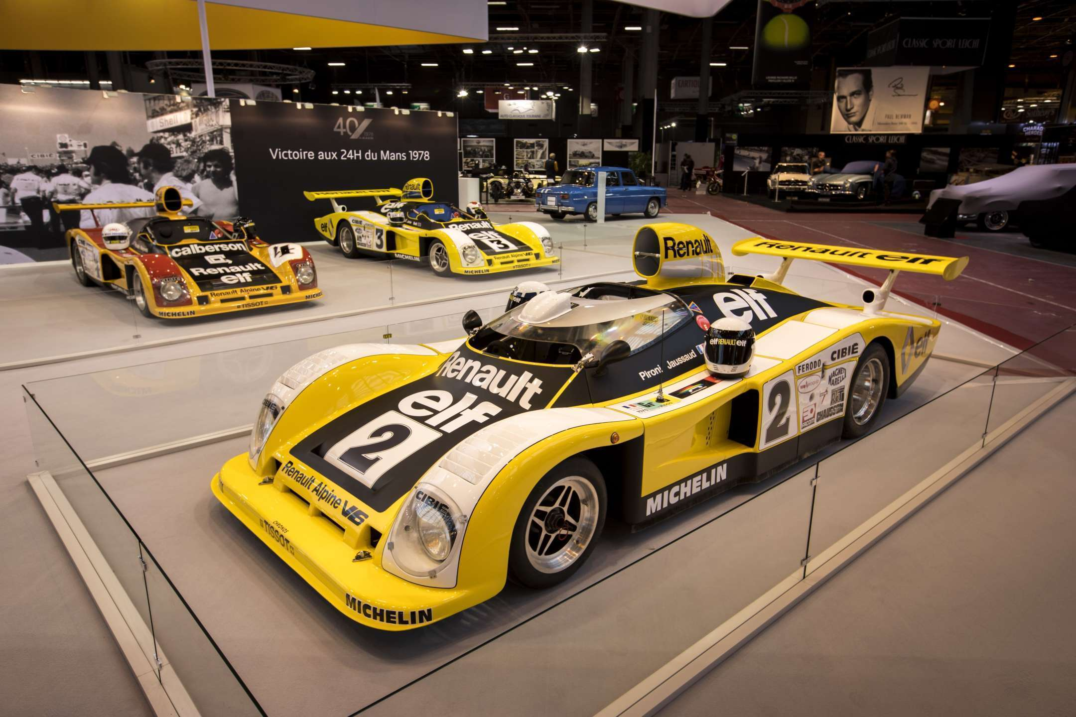 alpine planet retromobile alpine c l bre sa victoire aux 24h du mans 78 retromobile. Black Bedroom Furniture Sets. Home Design Ideas