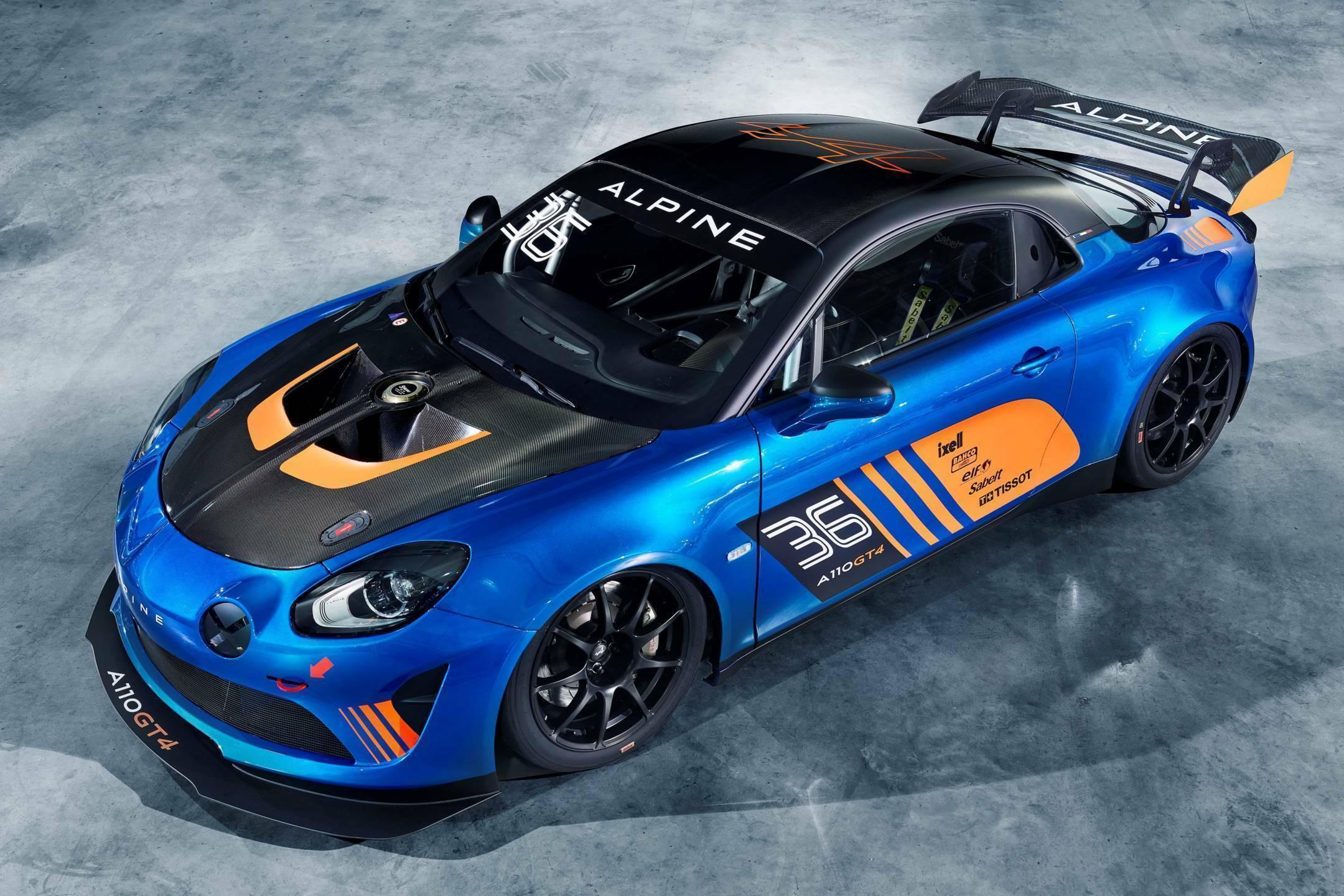 Alpine A110 GT4 Signatech Salon de Genève Racing 2018 2 | L'Alpine A110 GT4 devrait participer au FFSA GT en mi-saison !