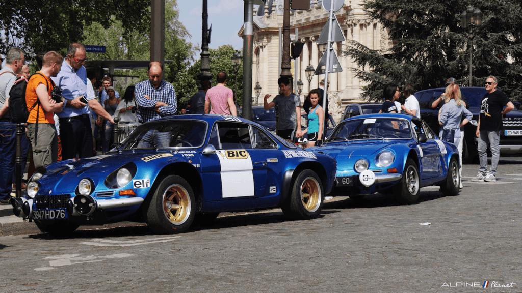 Alpine Planet Tour Auto 2018 Peter Paris A110 A310 15 imp | Tour Auto 2018: Les Alpine entrent en scène au Grand Palais !