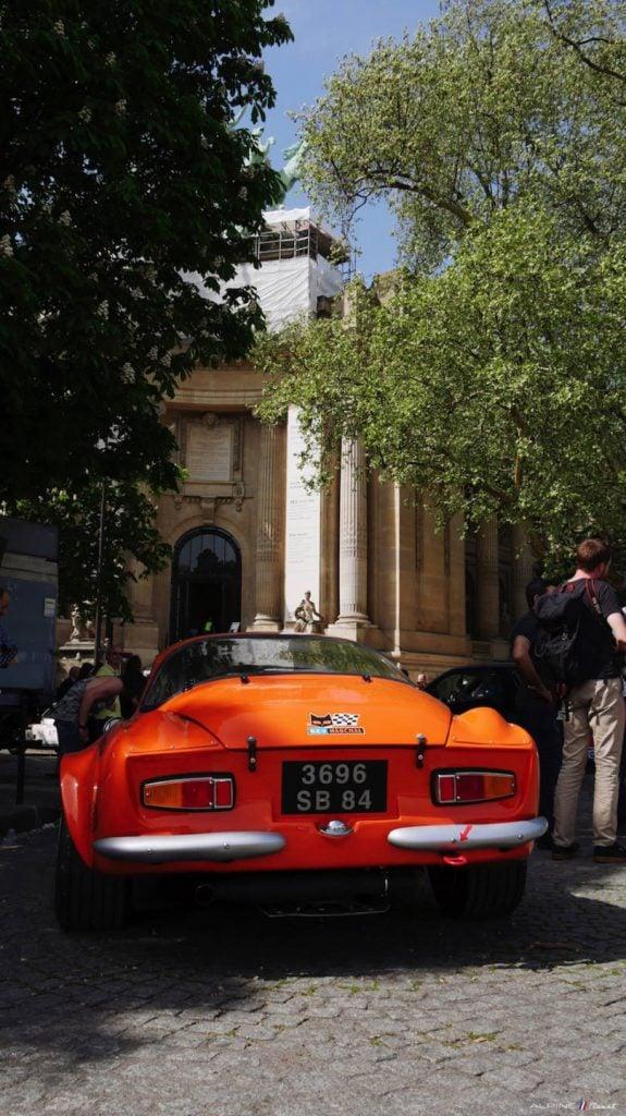 Alpine Planet Tour Auto 2018 Peter Paris A110 A310 19 imp | Tour Auto 2018: Les Alpine entrent en scène au Grand Palais !