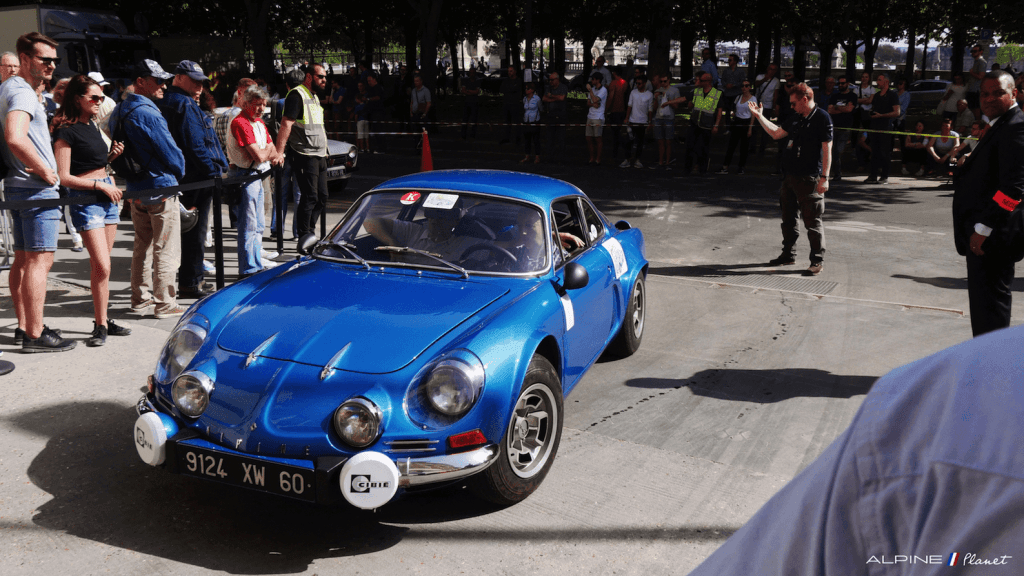 Alpine Planet Tour Auto 2018 Peter Paris A110 A310 36 imp | Tour Auto 2018: Les Alpine entrent en scène au Grand Palais !
