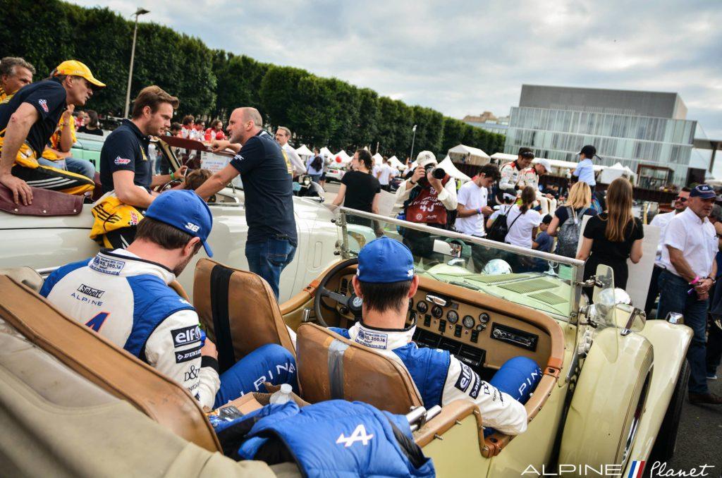 DSC 2302 3 | 24 Heures du Mans: La grande parade des pilotes Alpine