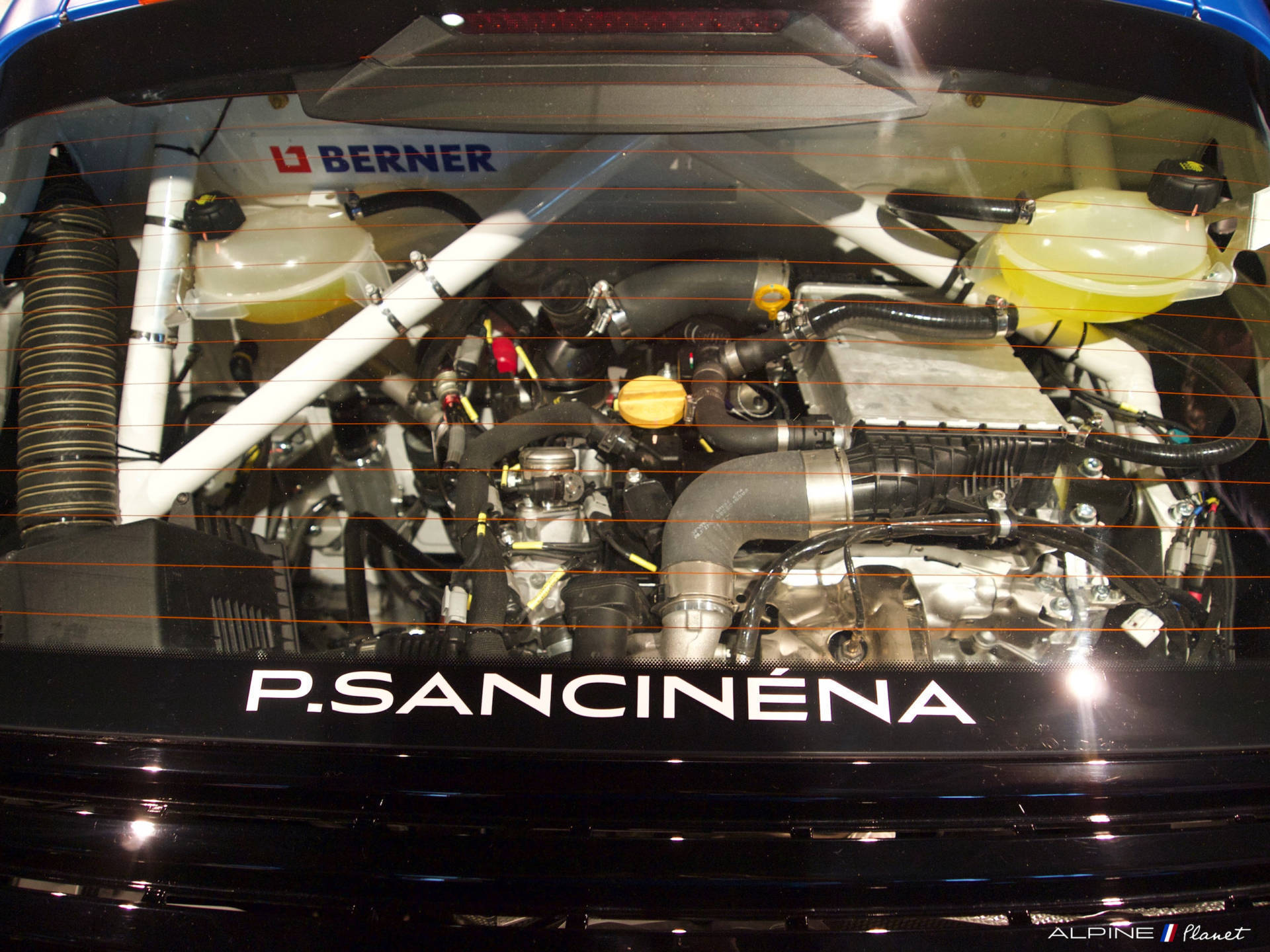 Alpine Planet A110 Cup Pierre Sancinena CMR Studio Boulogne RRG Fabien Cuvillier soirée 35   Présentation de l'Alpine A110 Cup de Pierre Sancinena
