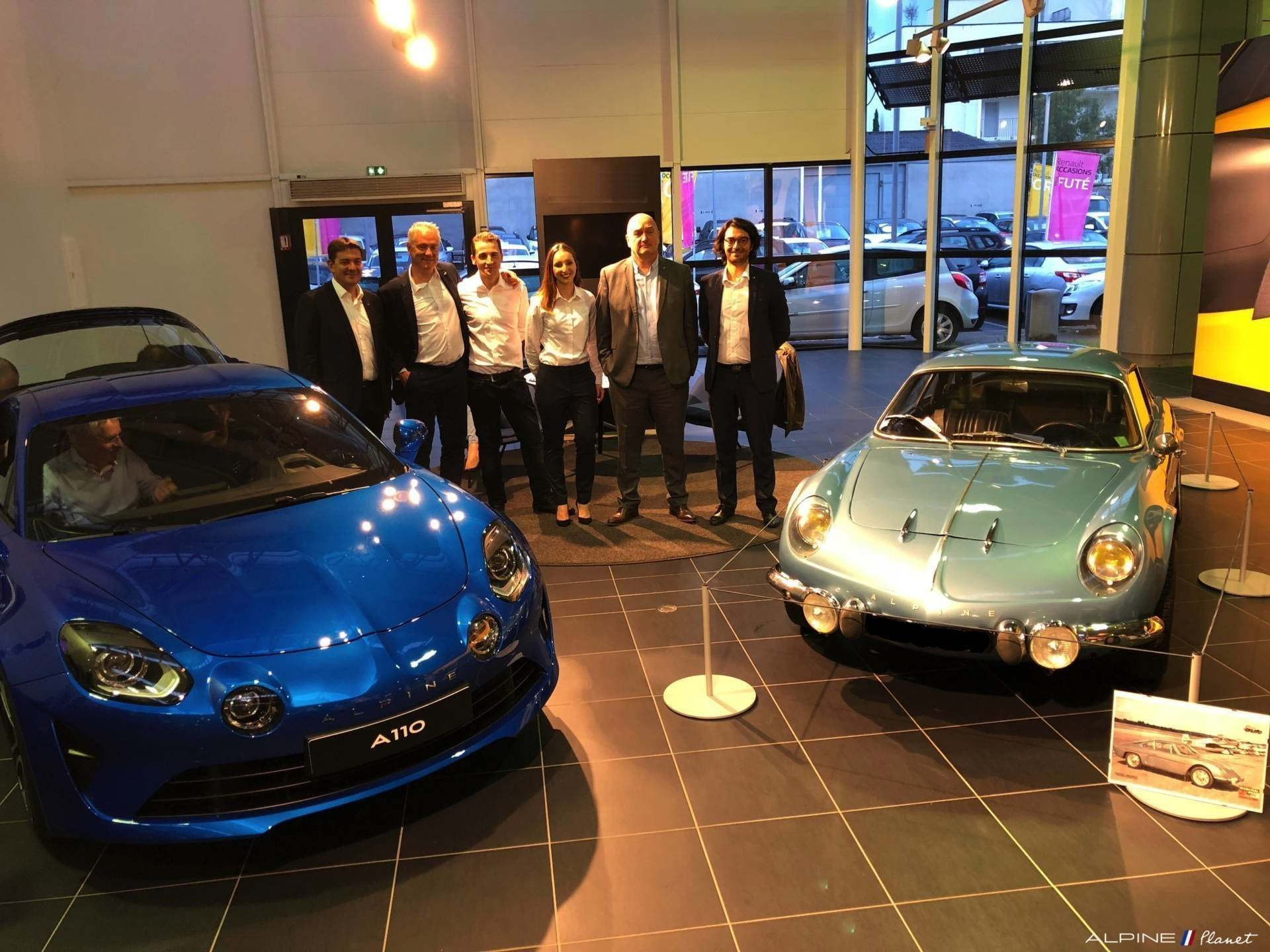 Alpine Planet inauguration showroom centre alpine toulouse 44 imp | Inauguration Centre Alpine Toulouse