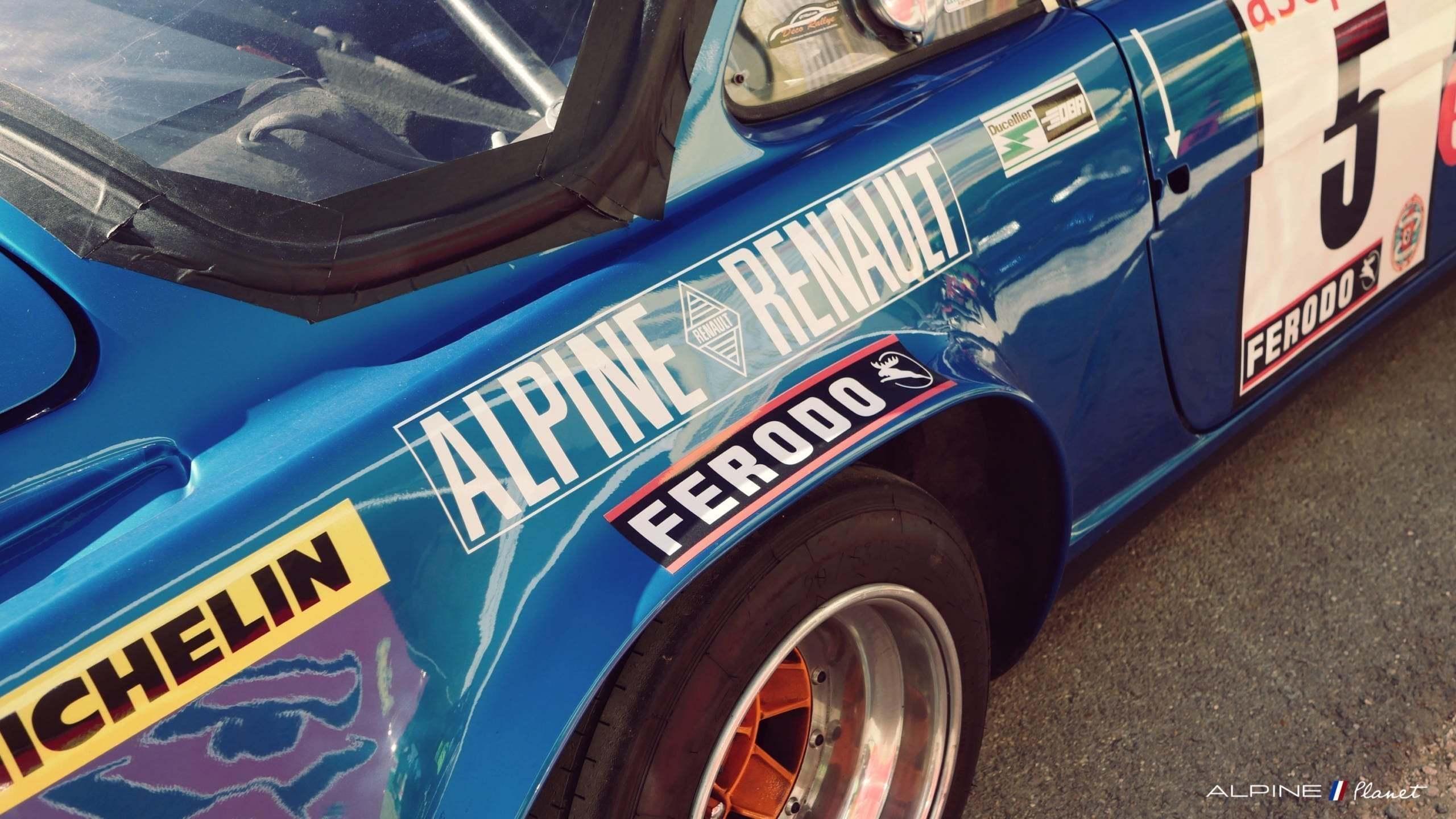 Alpine Planet Les Grandes Heures Automobiles 2018 Monthlery A110 A310 A340 M63 81 imp   Les Grandes Heures Automobiles 2018 : le succès d'Alpine en rallye fête ses 45 ans !