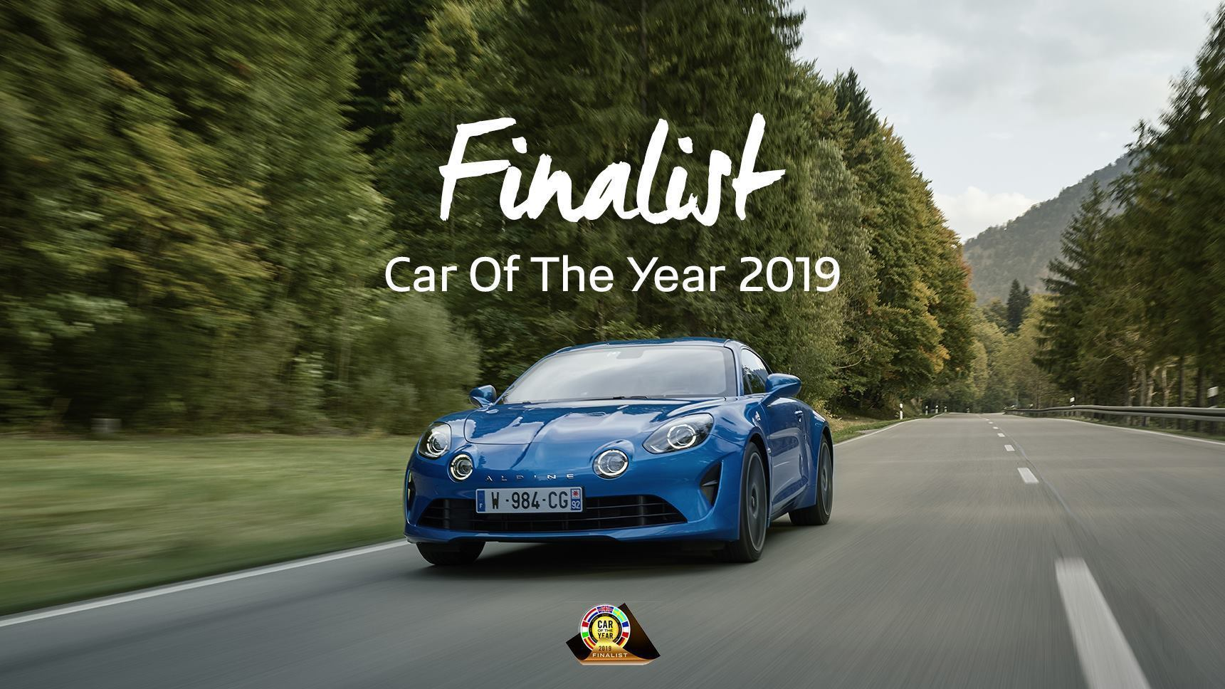 COTY Car Of The Year Alpine A110 2019 | Car of The Year: l'Alpine A110 est en finale !
