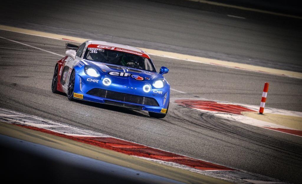Alpine A110 GT4 International Cup à Bahreïn Sancinena Jean CMR 5 | Alpine A110 GT4 / CMR: un leader incontestable est né à Bahreïn !