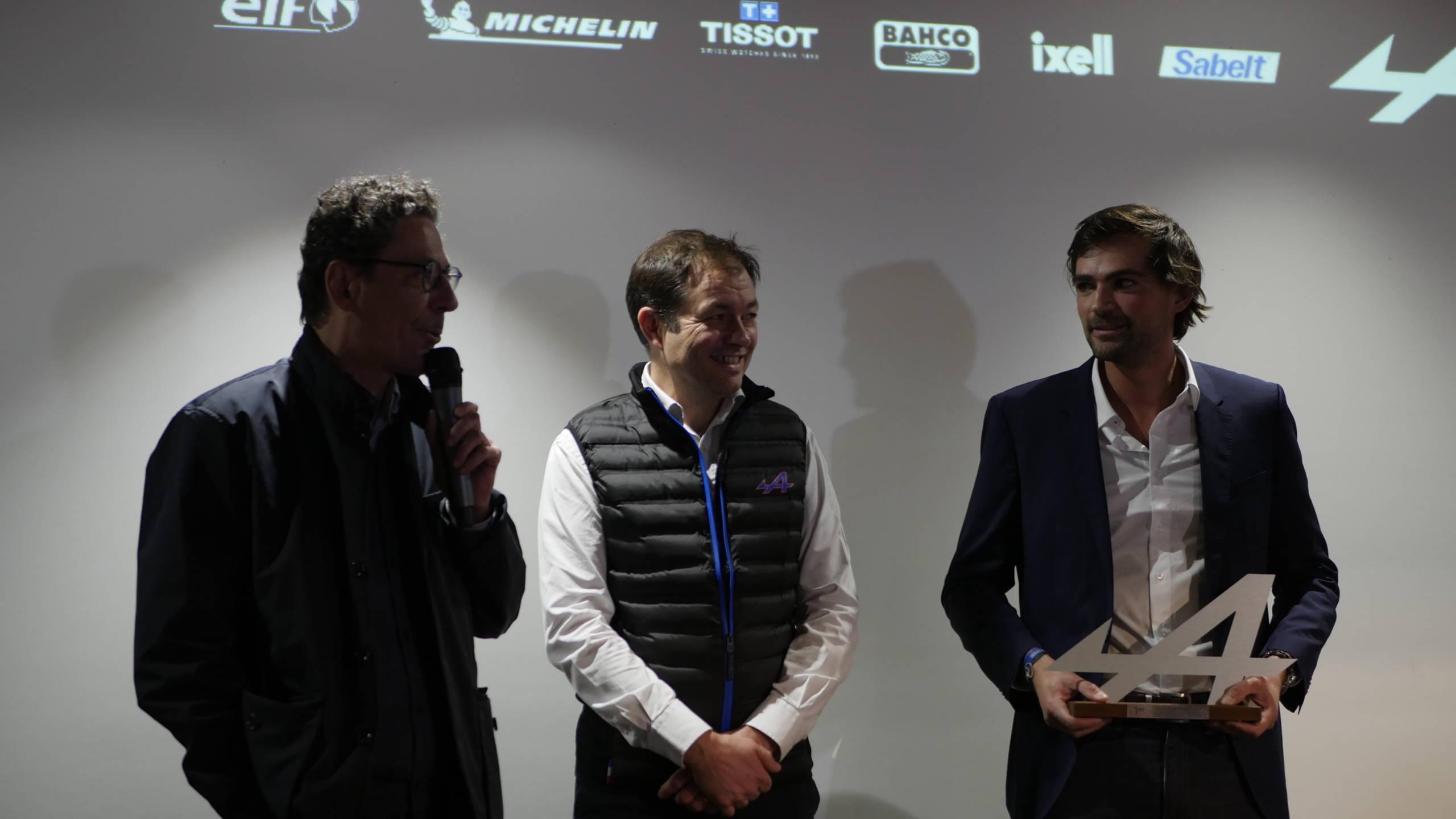 Soirée Alpine Elf Europa Cup 2018 récompense Showroom CMR 9 | Alpine Elf Europa Cup: par ici le programme 2019 !