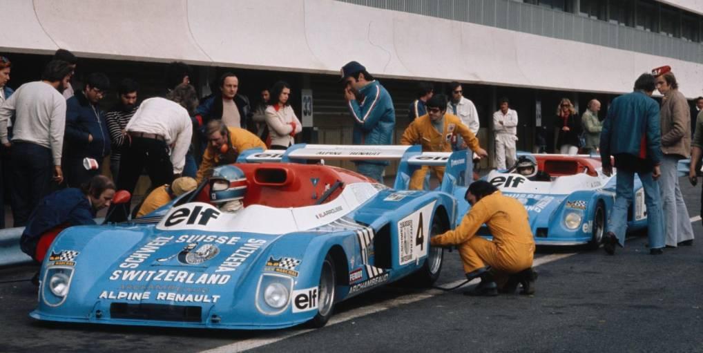 1974 | André Desaubry : Artisan des victoires Alpine en circuit.