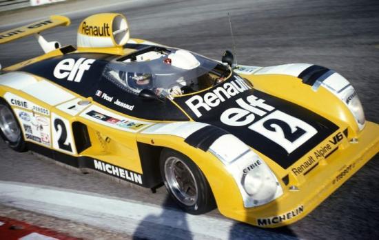 1978 | André Desaubry : Artisan des victoires Alpine en circuit.