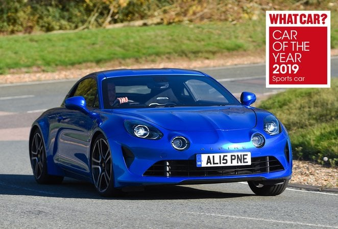 coty 2019 what car Alpine A110 | Le magazine What Car? sacre l'Alpine A110