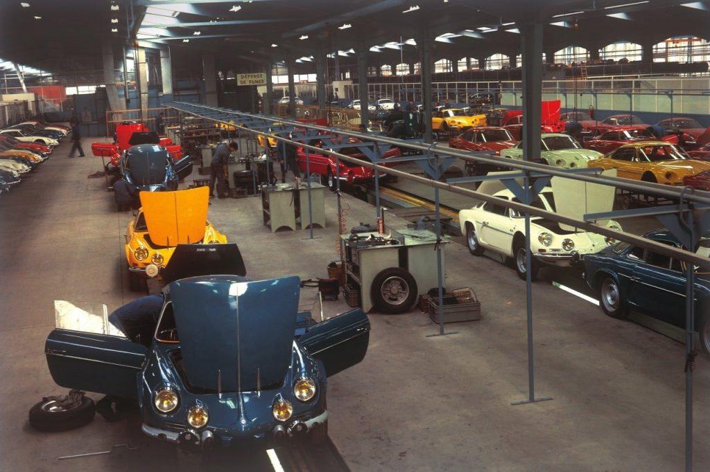 dieppe usine alpine | Alpine A110: 7176 exemplaires plus tard à Dieppe