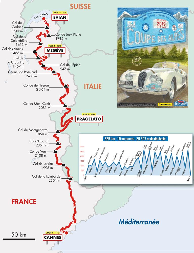 30e Coupe des Alpes Alpine A110 Rédélé 2 | 30e Coupe des Alpes: un rallye de 830 kms