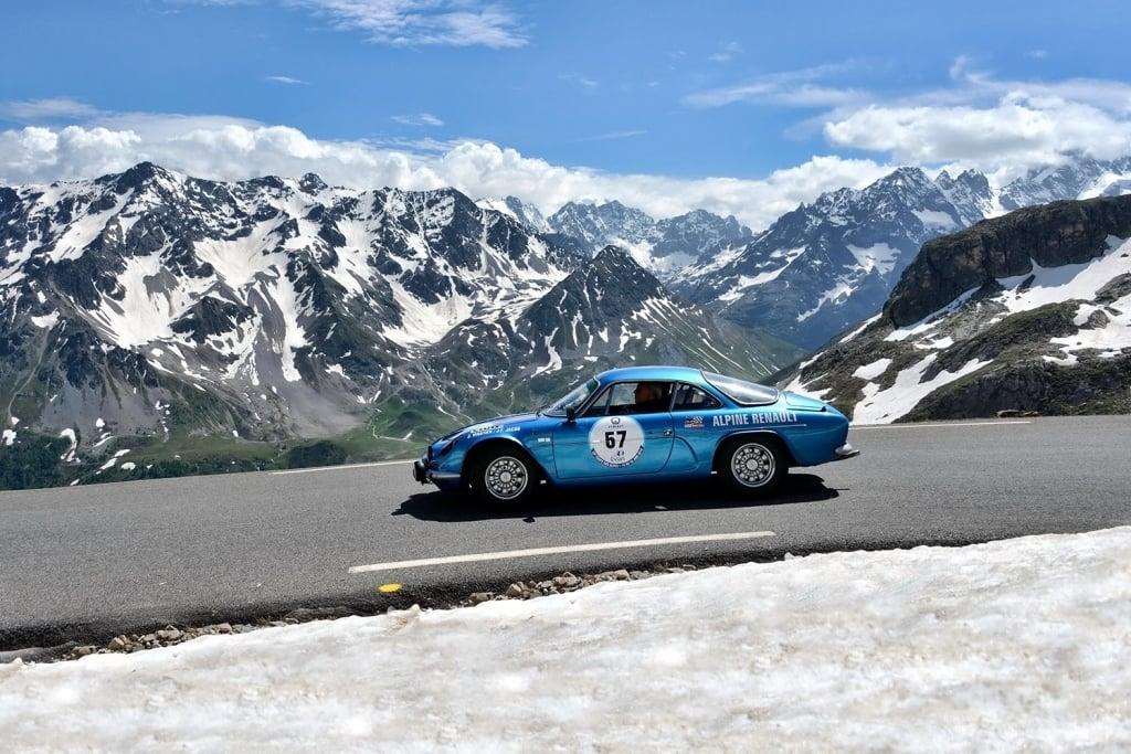 30e Coupe des Alpes Alpine A110 Rédélé 4 | 30e Coupe des Alpes: un rallye de 830 kms