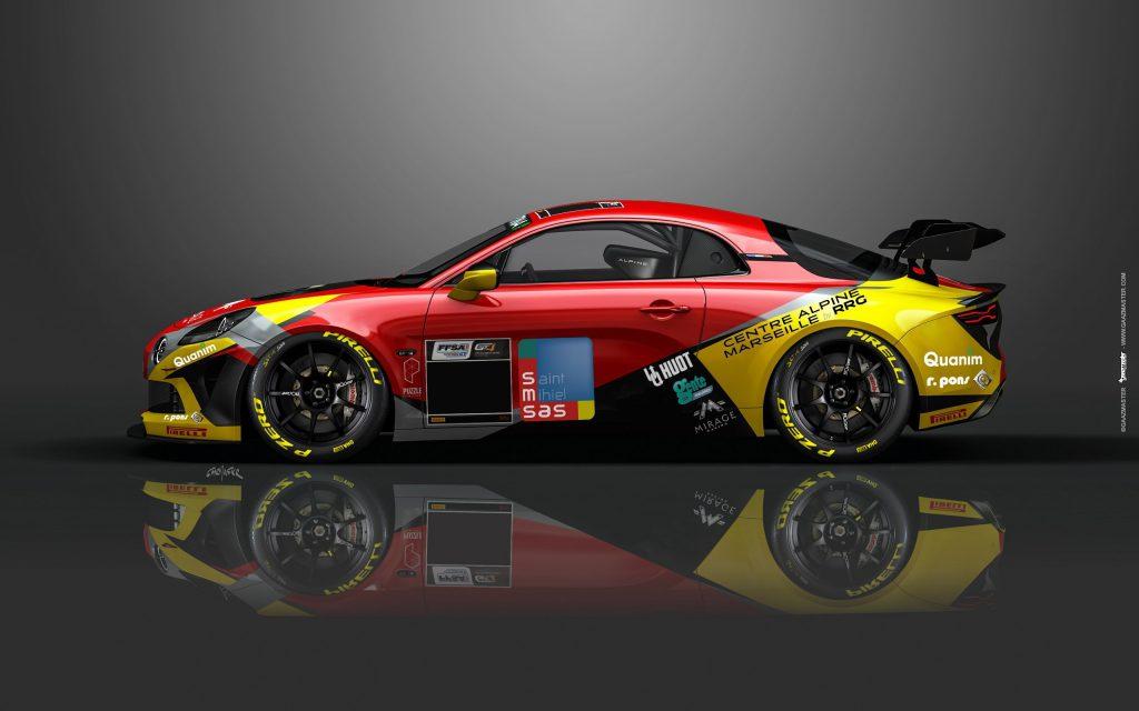 5e57bc23 f4c1 43c8 aa5b 011ccc864b7b 1 | Mirage Racing en ordre de marche avec ses deux Alpine A110 GT4!