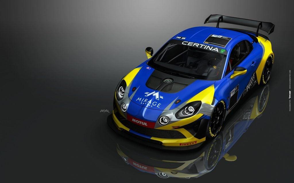 75e112d4 2b33 4abf b86f b76c24b118bc | Mirage Racing en ordre de marche avec ses deux Alpine A110 GT4!