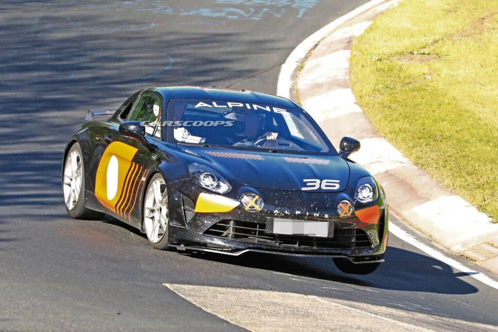 Alpine AS110 A110 S nurbrugring carscoops 1 | La nouvelle Alpine AS110 / A110 S, on la tient enfin !