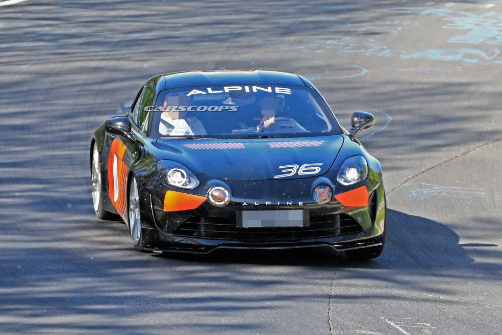 Alpine AS110 A110 S nurbrugring carscoops 8 | La nouvelle Alpine AS110 / A110 S, on la tient enfin !