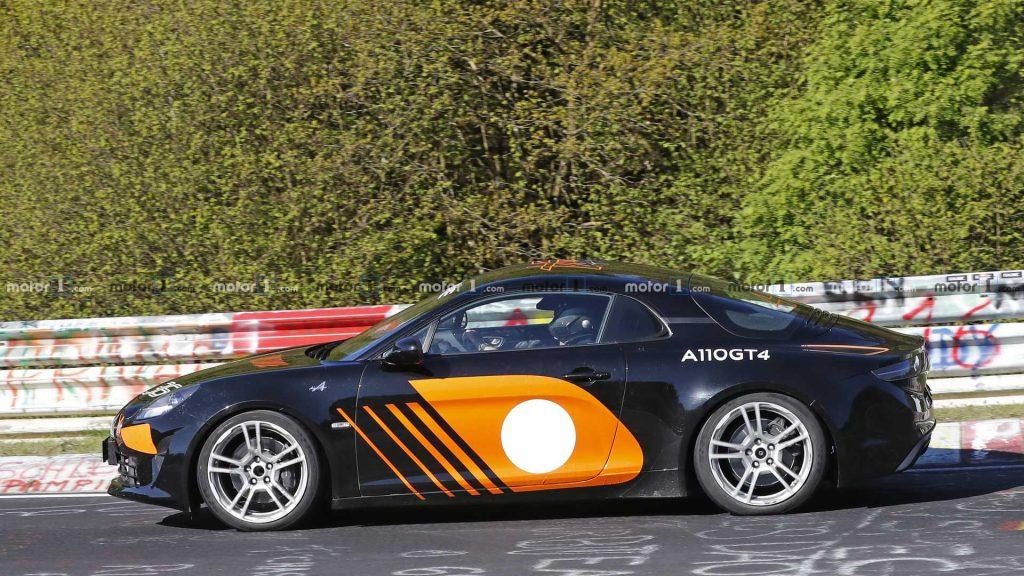 possible higher specification alpine a110 spy photo 4 | La nouvelle Alpine AS110 / A110 S, on la tient enfin !