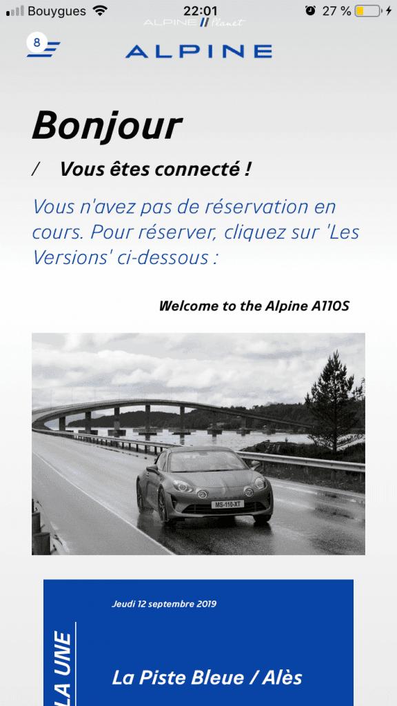 commander alpine A110S 2 | Comment précommander l'Alpine A110S ?