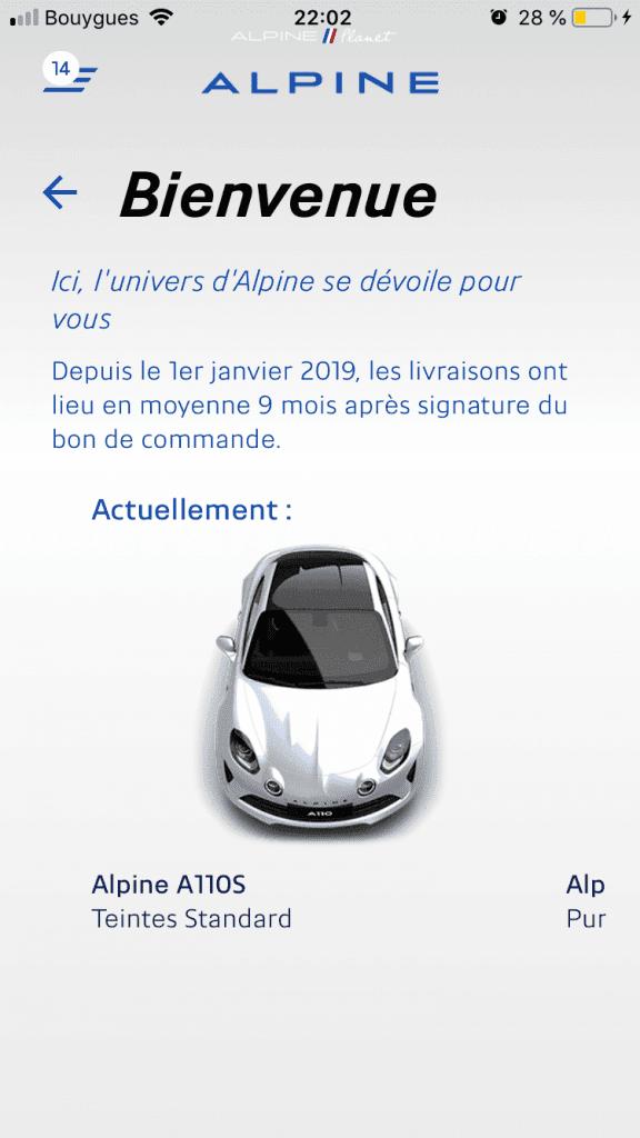 commander alpine A110S 5 | Comment précommander l'Alpine A110S ?