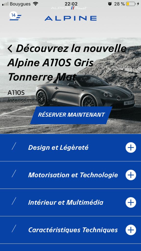 commander alpine A110S 8 | Comment précommander l'Alpine A110S ?