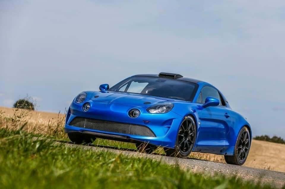 Alpine A110 Rally R GT | L'Alpine A110 Rallye se montre enfin !