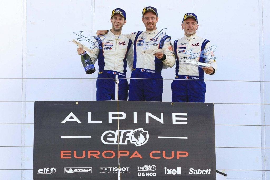 Alpine Elf Europa Cup 2019 Silverstone Gael Castelli 10 | Alpine Elf Europa Cup: Castelli s'impose à Silverstone !