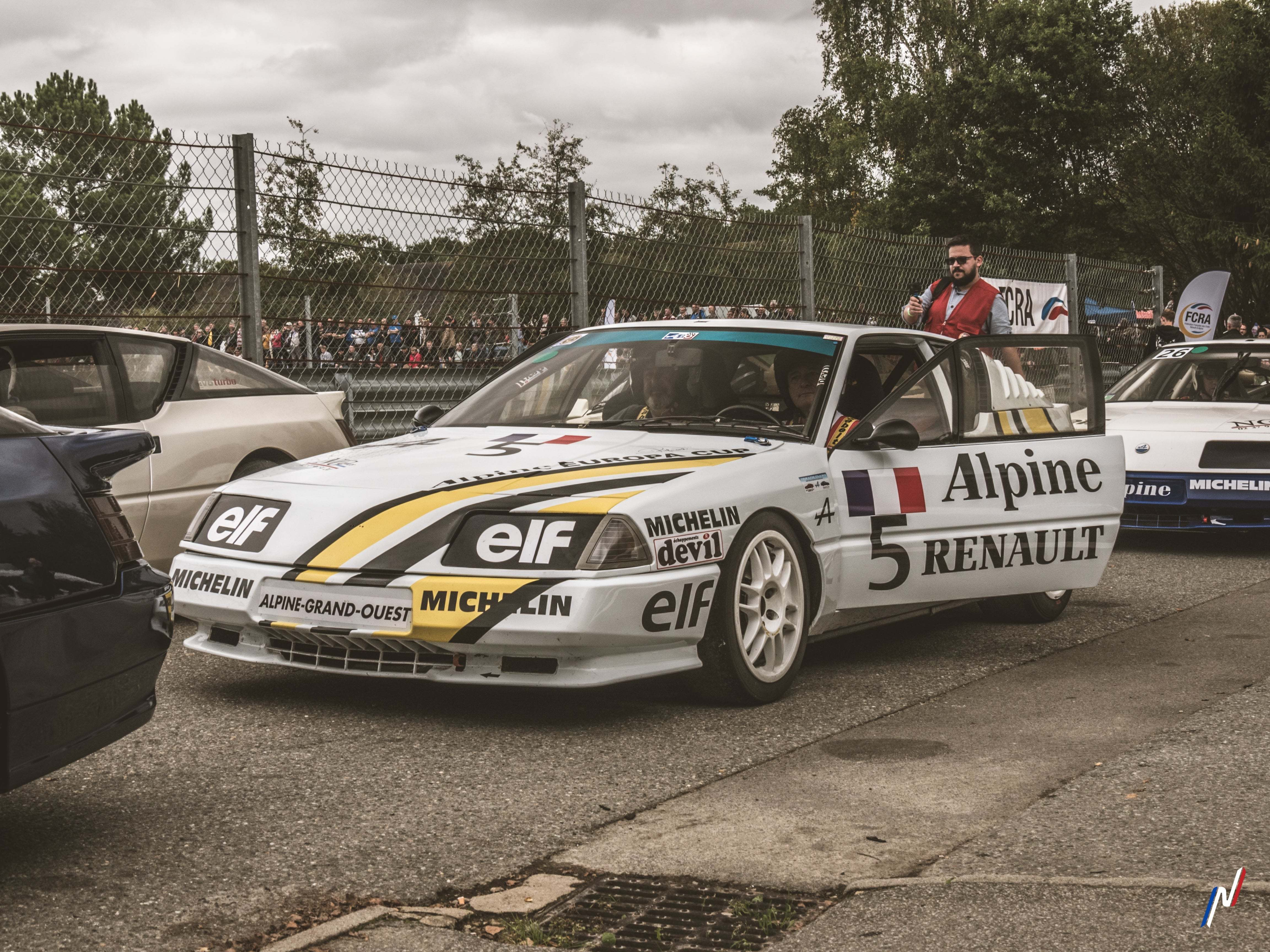 FCRA Autobrocante Lohéac 2019 Ragnotti Leclerc Serpaggi Alpine GTA A110 A610 A310 Alpine Planet 108 | Autobrocante Festival de Lohéac 2019: les Alpine à l'honneur !