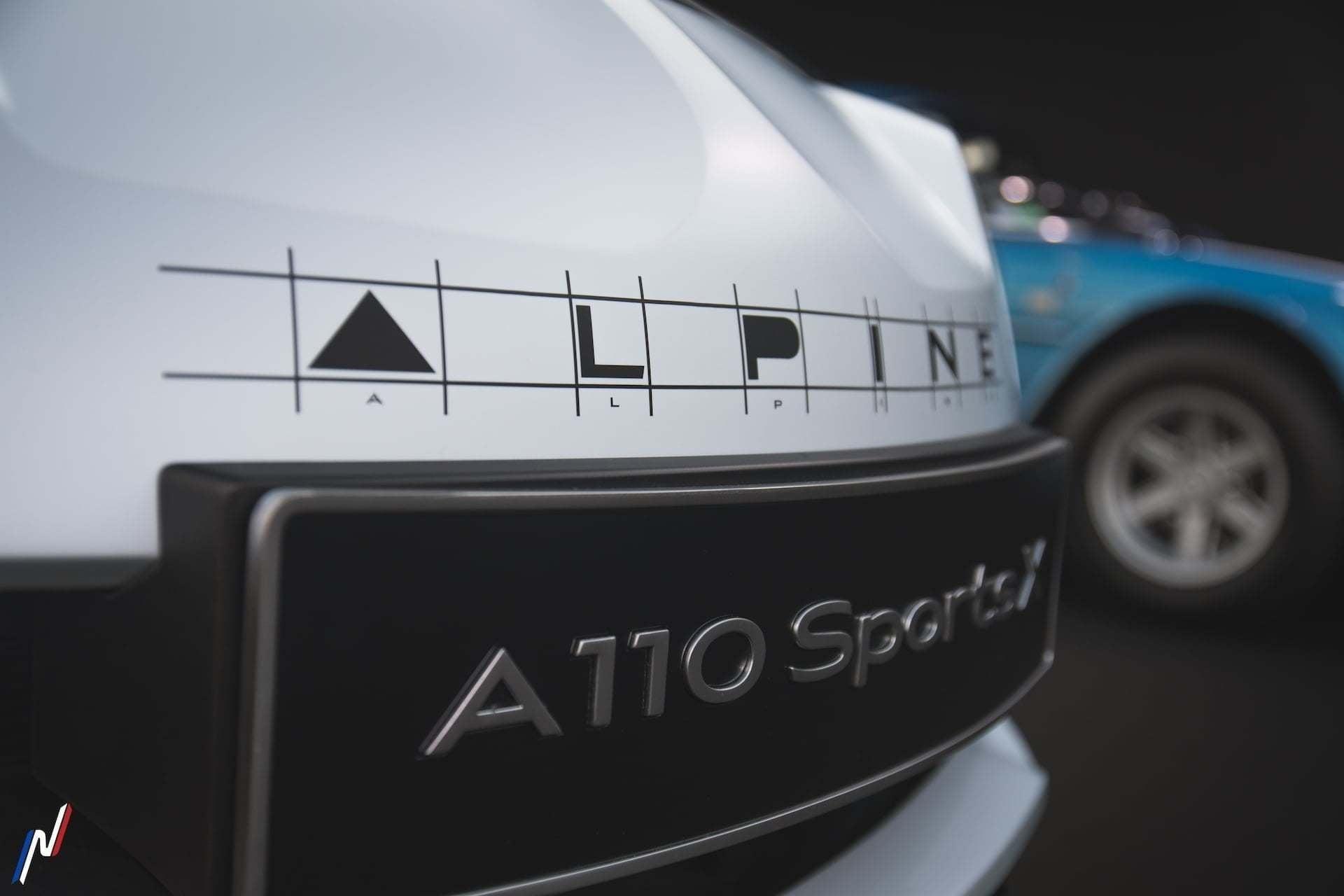 Alpine A110 Sports X Pierre Emmanuel Alain 2020 les Alpinistes 42 | Alpine A110 Sports X: Sous l'oeil de Pierre-Emmanuel Alain