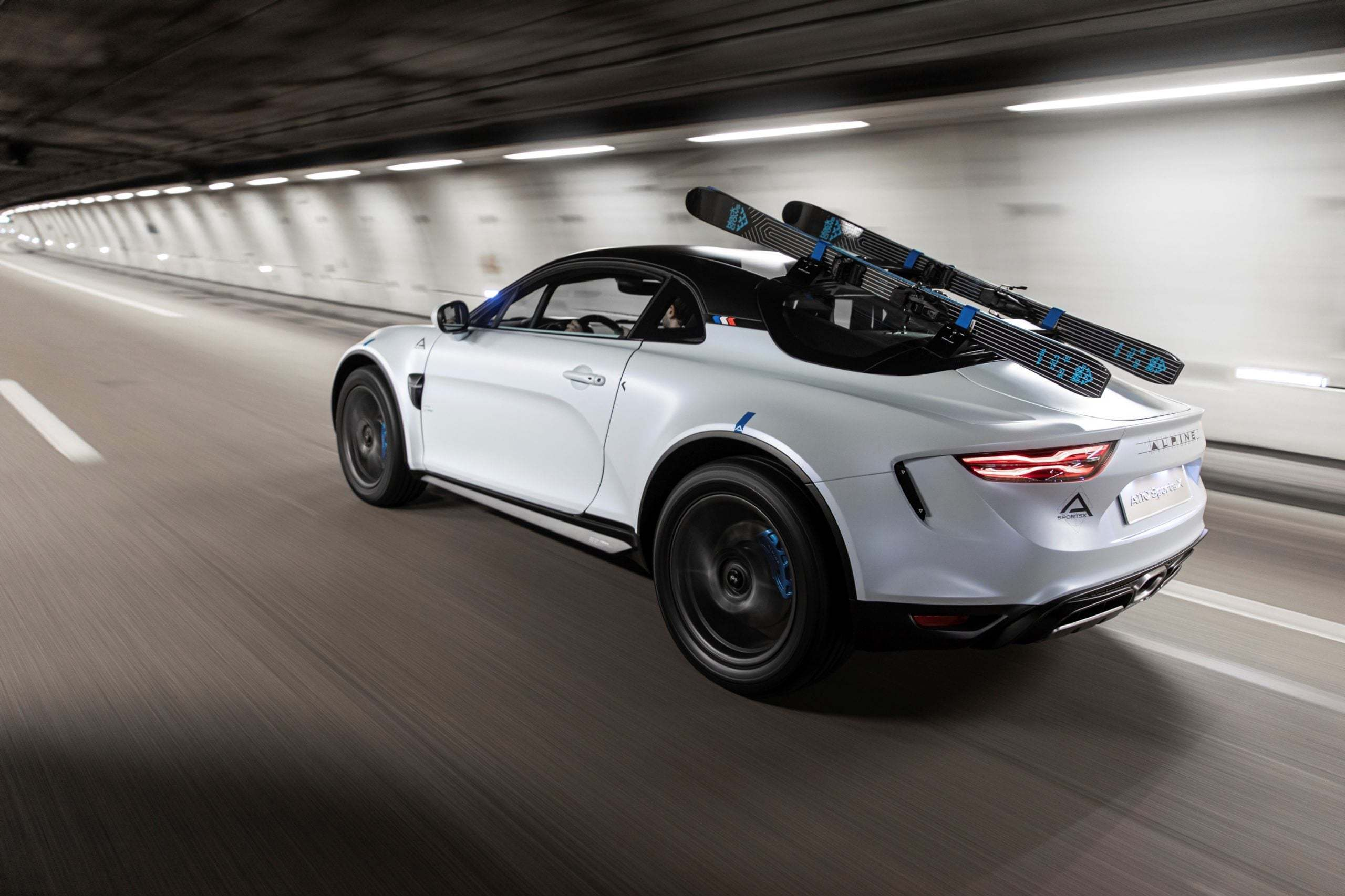 Alpine A110 SportsX Festival International Automobile 2020 7 scaled   Alpine A110 Sports X : un concept SUV Coupé ?