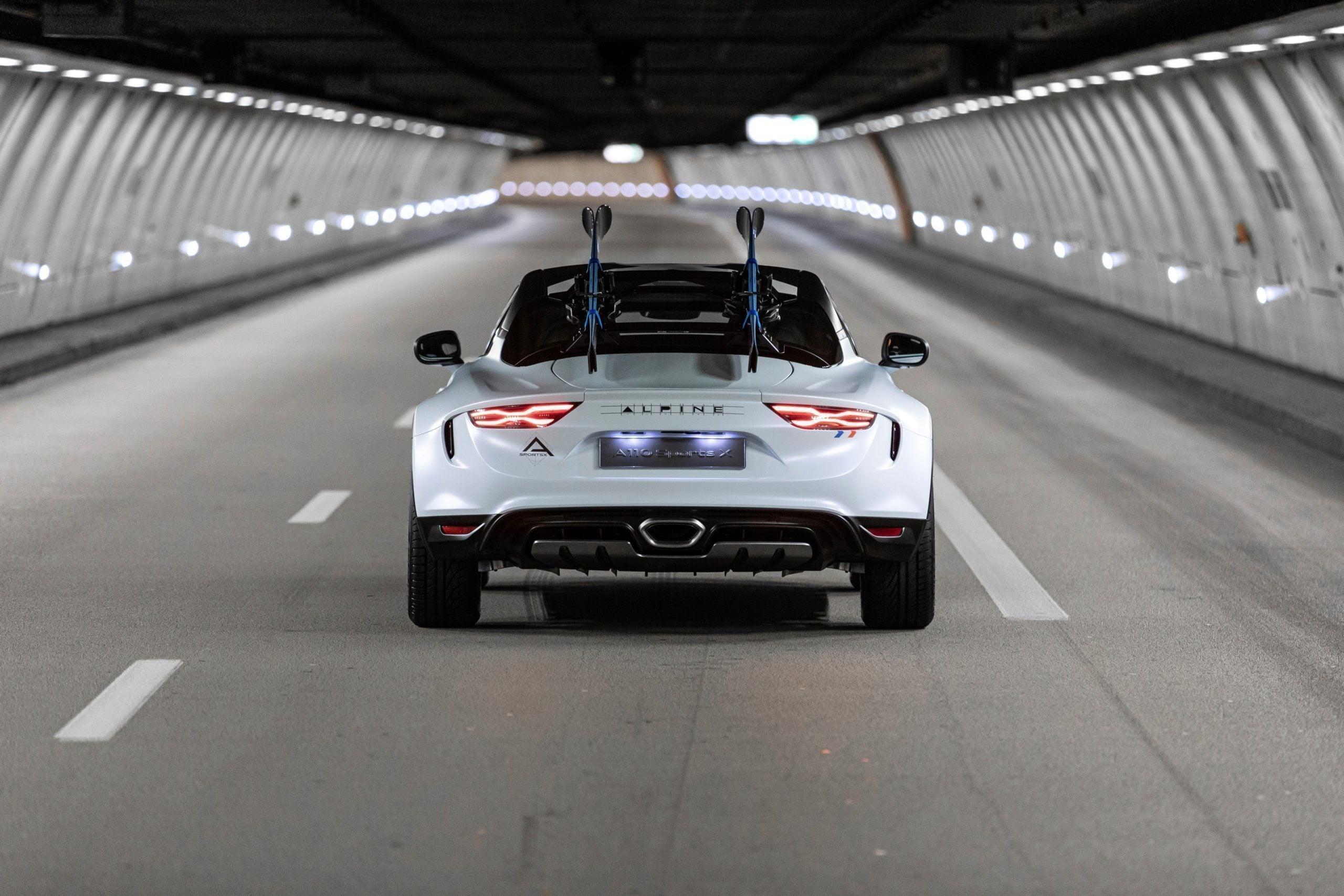 Alpine A110 SportsX Festival International Automobile 2020 9 scaled   Alpine A110 Sports X : un concept SUV Coupé ?